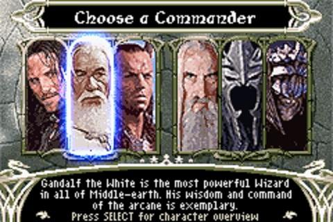 El juego está muy descompensado: los héroes de la compañía del anillo son mucho más variados y potentes.