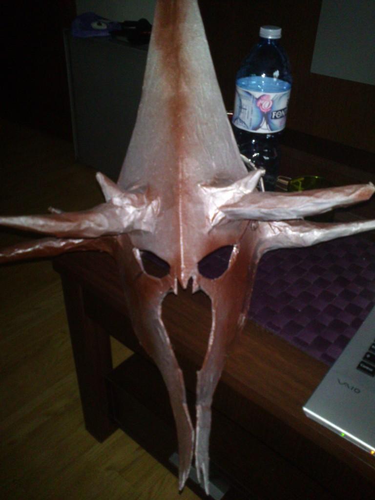 Máscara pintada